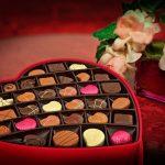 Romantische chocolade